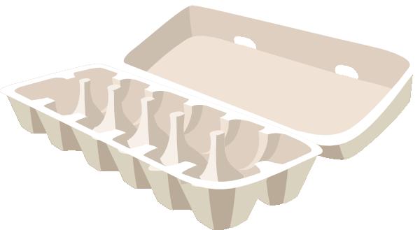 Egg Carton Clip Art at Clker.com - vector clip art online ...