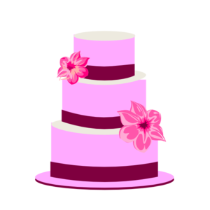 Tiered Cake Clip Art