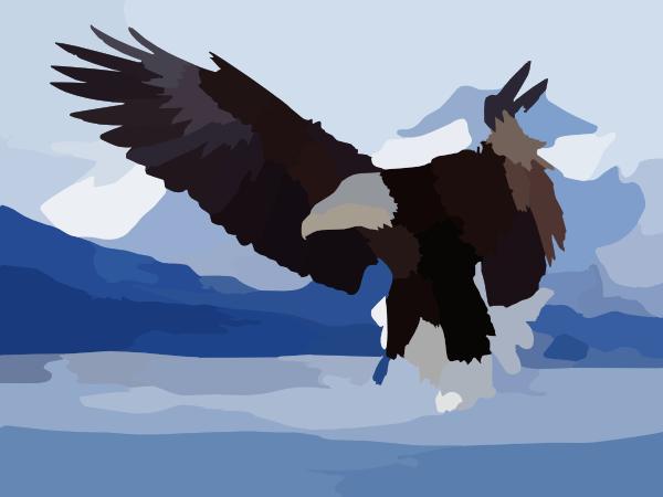 Flying eagle desktop wallpaper clip art at clker vector clip flying eagle desktop wallpaper clip art at clker vector clip art online royalty free public domain altavistaventures Images