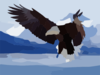 Flying Eagle Desktop Wallpaper Clip Art
