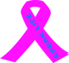 Hot Pink Ribbon Clip Art