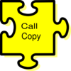 Call Copy Clip Art