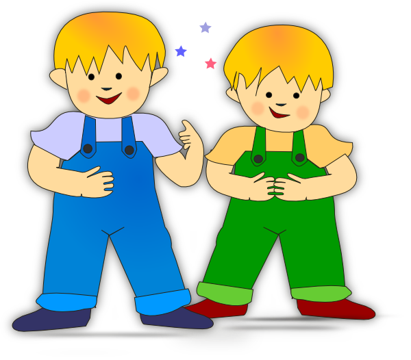 Playing kids clip art
