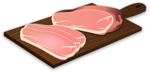 Sliced Ham Clip Art