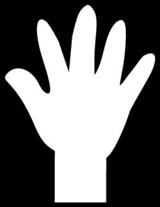 Hand Print Clip Art