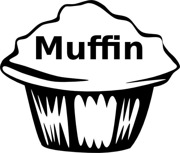 Muffin Pan Drawing Muffin Clipart