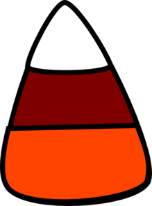 Fall Candy Corn Clip Art