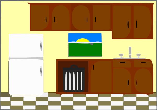 Kitchen Bright Clip Art at Clker.com - vector clip art ...
