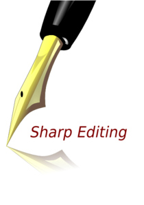 Sharp Editing Clip Art