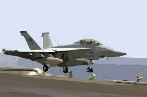An F/a-18f Super Hornet Launches Off From One Of Four Steam Powered Catapults On The Flight Deck Aboard Uss Nimitz (cvn 68). Clip Art
