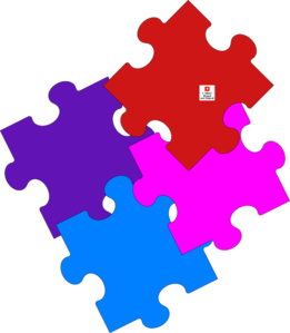 Jigsaw Puzzle-alternate Clip Art