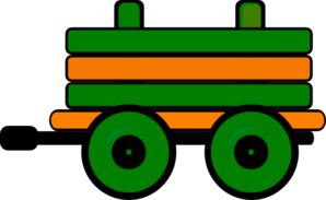 Toot Toot Train Carriage 2 Clip Art