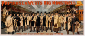 Primrose & West S Big Minstrels All White Performers. 2 Clip Art