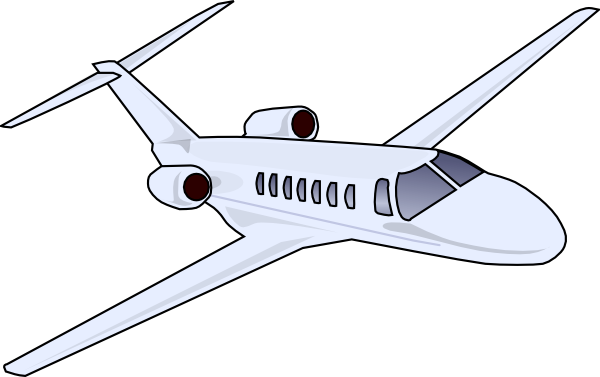 cartoon airplane clipart - photo #7