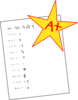 Perfect Score Clip Art