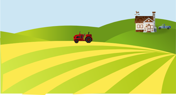 Farm Scenery Clip Art At Clker Com Vector Clip Art