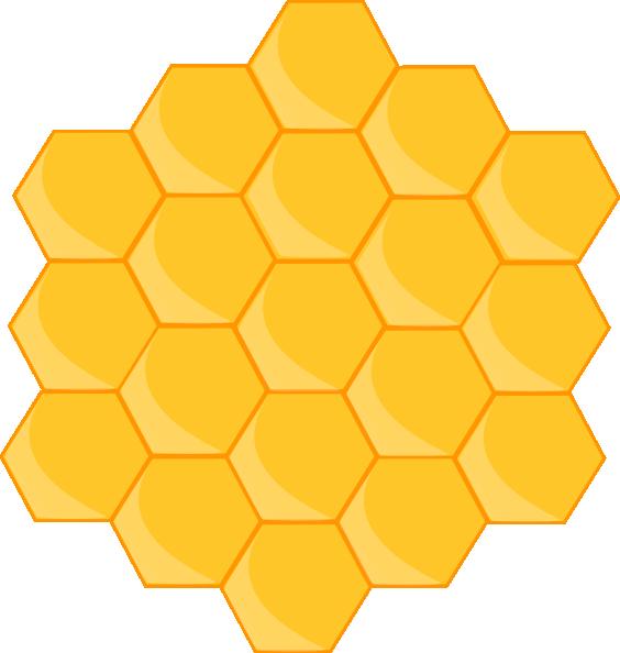 Honeycomb Clip Art at Clker.com - vector clip art online, royalty free ...