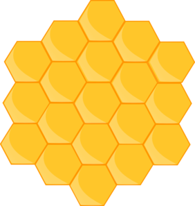 honeycomb clip art at clker com vector clip art online royalty rh clker com honeycomb clipart free honeycomb border clipart