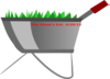 The Shaws Wheelbarrow Est. Clip Art