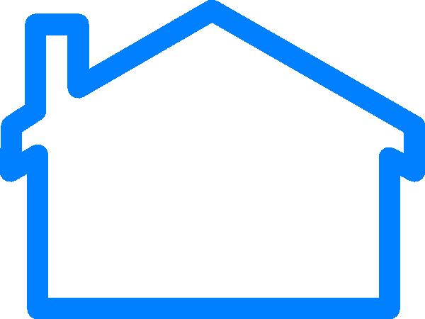 clip art blue house - photo #24