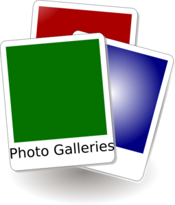 Photo Galleries Clip Art