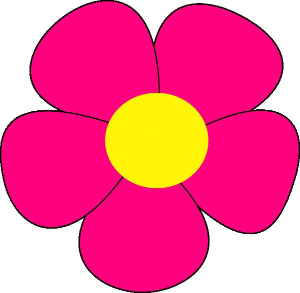 Simple Flower Part - 21: Simple Flower Clip Art