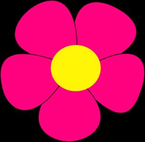 simple flower clip art at clker com vector clip art online rh clker com flower clip art black and white flower clip art outline