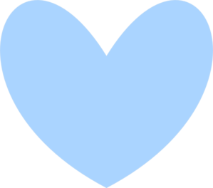 solid blue heart clip art at clker com vector clip art online rh clker com light blue heart clipart light blue heart clipart