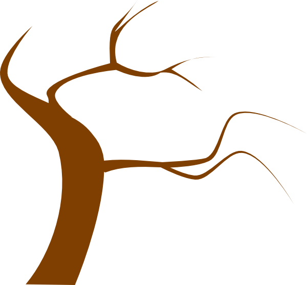 Brown Tree Clip Art at Clker.com - vector clip art online ...