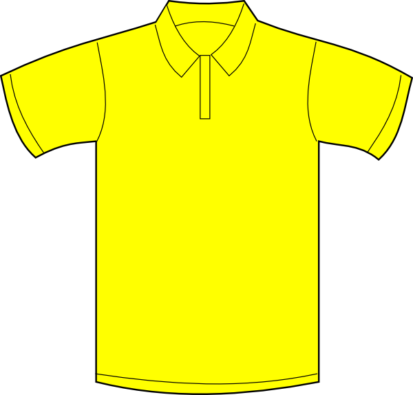 Gallery For > White Polo Shirt Clipart