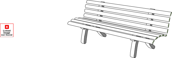 Bench G aoi clip artPark Bench Clipart Black And White