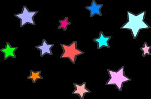 Star Cluster Clip Art at Clker.com - vector clip art ...