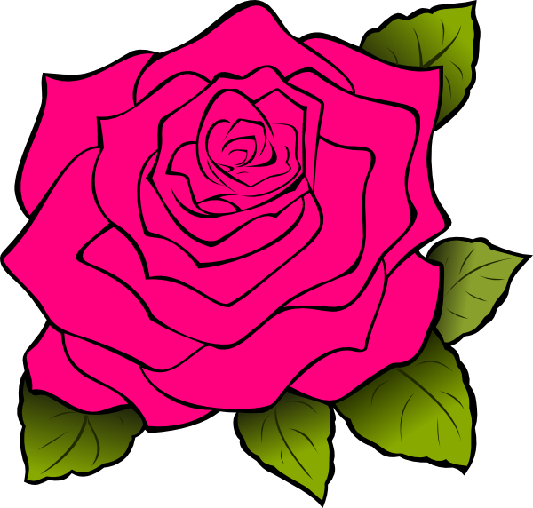 animated clip art roses - photo #3