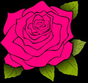 pink rose clip art at clker com vector clip art online royalty rh clker com roses clipart free download roses clip art black and white
