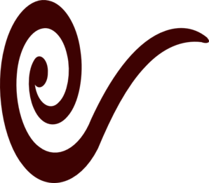 Brownswirlicon Clip Art