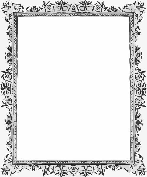 Black Border Clip Art