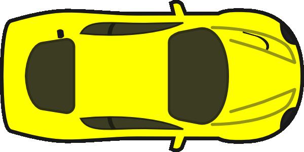 Red Car Top View Clip Art At Clker Com Vector Clip Art