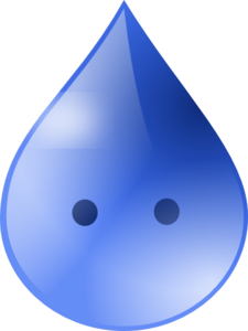 Rain Drop Animated 2 Clip Art