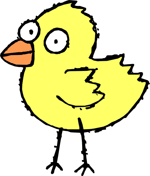 cartoon chicken clip art free - photo #40