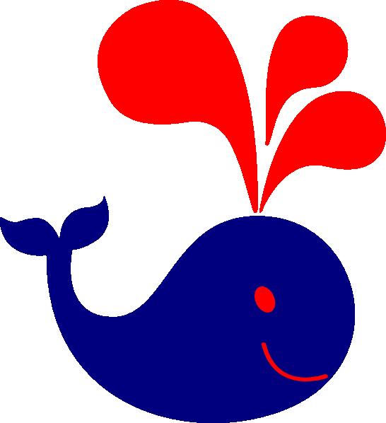 cute whale clip art at clker com vector clip art online royalty rh clker com blue whale clipart cute