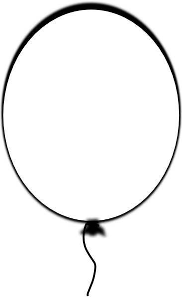 How To Draw Balloon Outline