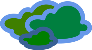 Gas/cloud Clip Art