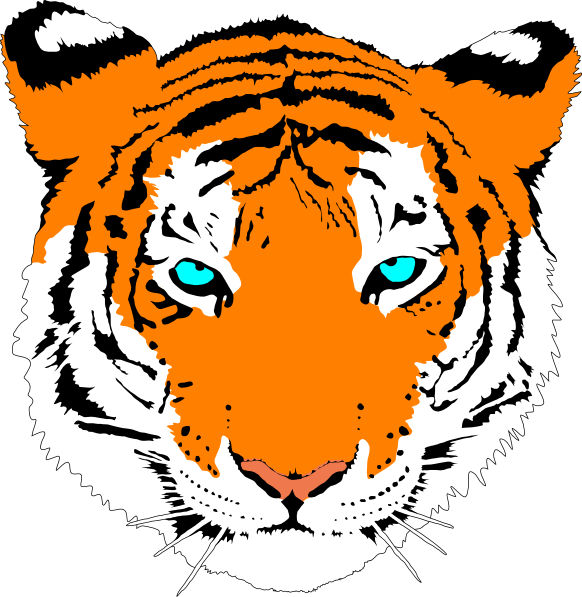 bengal tiger clip art at clker com vector clip art online royalty rh clker com Panda Clip Art Parrot Clip Art