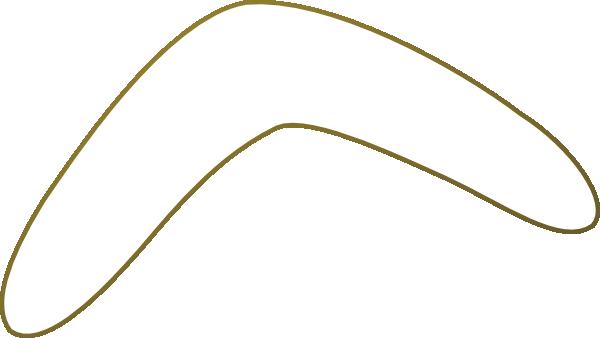 Simple Boomerang Pattern Clip Art at Clker.com - vector clip art ...