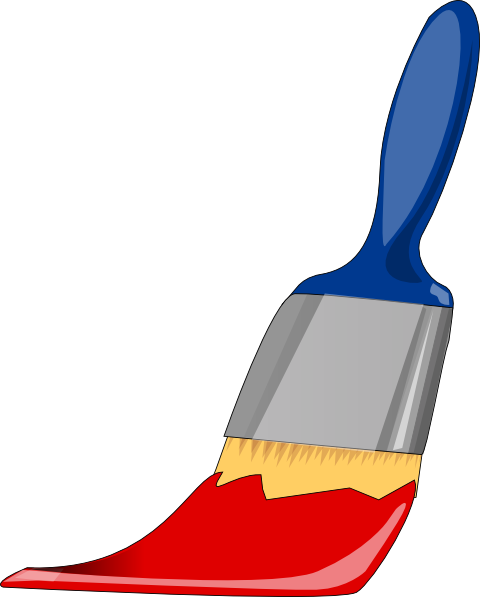paint brush clip art free - photo #5