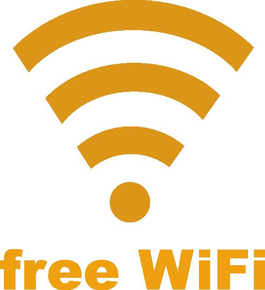 Free Wifi Logo Clip Art at Clker.com - vector clip art ...