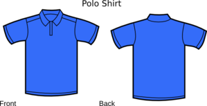 Blue Polo Shirt Clip Art