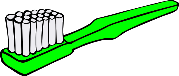 Green Toothbrush Clip Art at Clker.com - vector clip art online ...