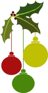 Christmas Ornaments1 Clip Art