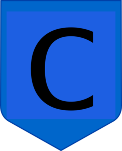 Blue Shield W C Clip Art